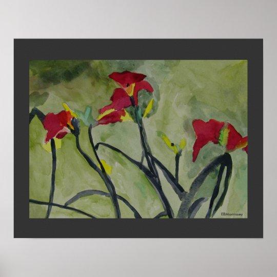 Tiger Lilies - Print