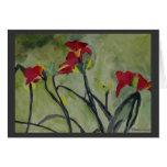 Tiger Lilies - Print - Card