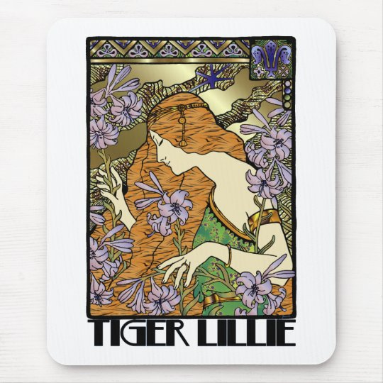 Tiger Lillie Mouse Pad