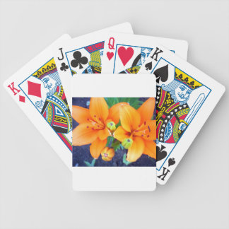 Tiger Lillies 3.jpg Bicycle Playing Cards