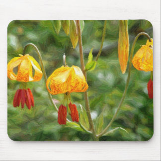Tiger Lillies Mouse Pad