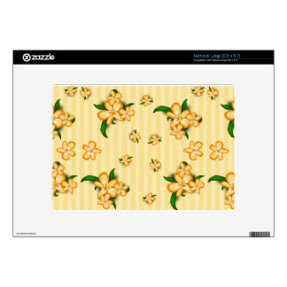 Tiger Lillies Large Netbook Decal