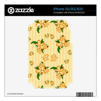 Tiger Lillies iPhone 2G Decal