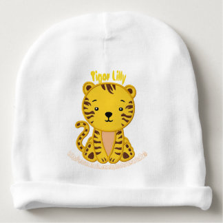 """""""Tiger Lilly"""" Baby Beanie"""