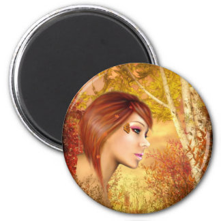 Tiger Lilly Magnet