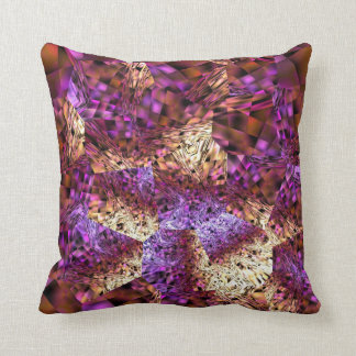 Tiger Lily Abstract Throw Pillow