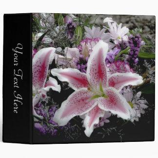 Tiger Lily Black Photo Album Binder