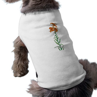 Tiger Lily by Kate Greenaway Dog T-shirt
