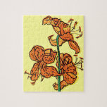 Tiger Lily by Kate Greenaway Jigsaw Puzzles
