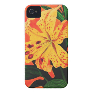 Tiger Lily Case-Mate iPhone 4 Cases