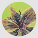 Tiger Lily Classic Round Sticker