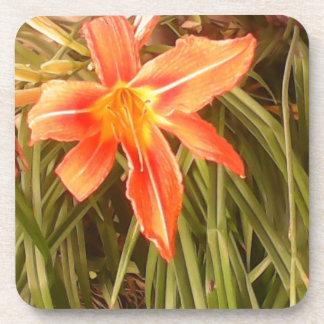 tiger lily coaster