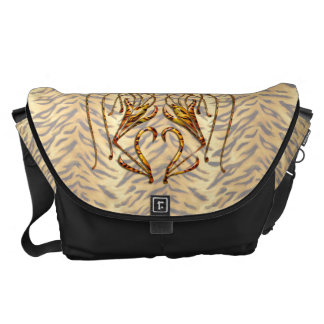 Tiger Lily Courier Bags