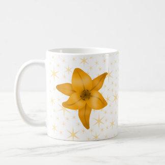 Tiger Lily Flower. Classic White Coffee Mug