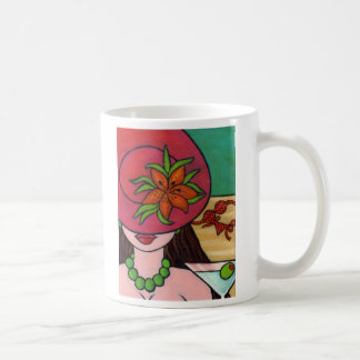 Tiger Lily Hat Coffee Mug