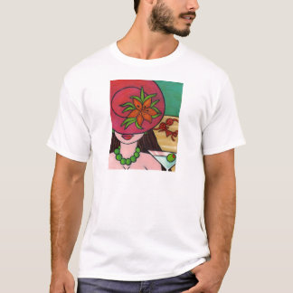 Tiger Lily Hat T-Shirt
