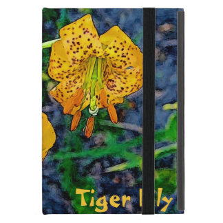 Tiger Lily iPad Mini Cover