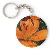 Tiger Lily Keychain