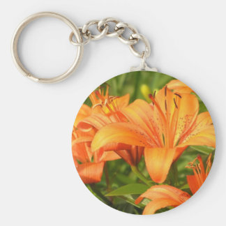 Tiger Lily Keychain