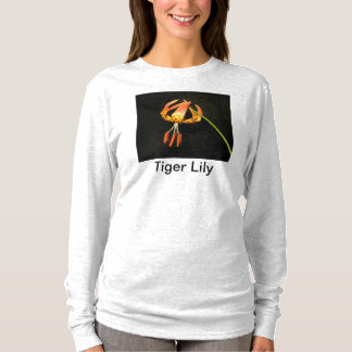 Tiger Lily Long-Sleeved Tshirt