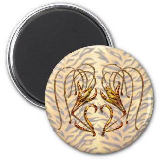 Tiger Lily Magnet
