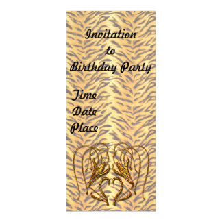 Tiger Lily Magnetic Card