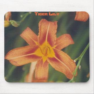 Tiger Lily - mousepad