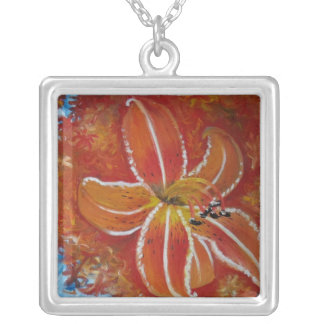 Tiger Lily Necklace