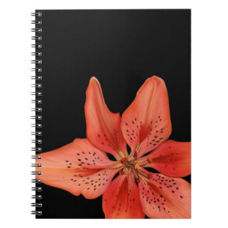 Tiger Lily Painting Spiral Notebook