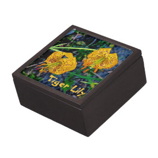 Tiger Lily Premium Jewelry Boxes