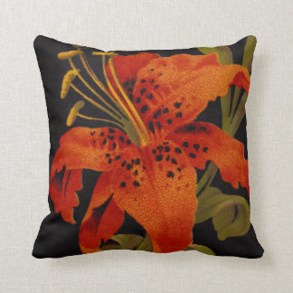 Tiger Lily Square Pillow
