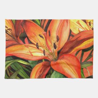Tiger Lily Towel