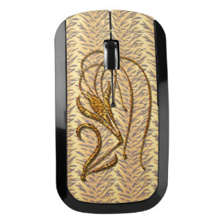 Tiger Lily Wireless Mouse