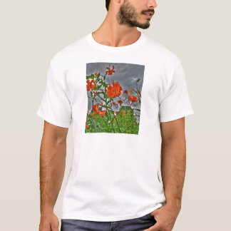 Tiger Lilys and Cloudy Skies T-Shirt