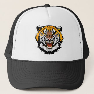 Tiger Logo Trucker Hat