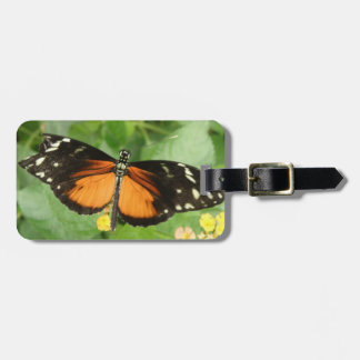 Tiger Longwing Butterfly Custom Luggage Tag