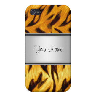 Tiger look Abstract 4s  iPhone 4/4S Cases