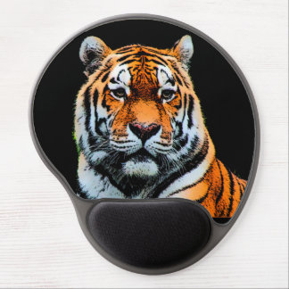 Tiger Look Artwork Gel Mouse Pad
