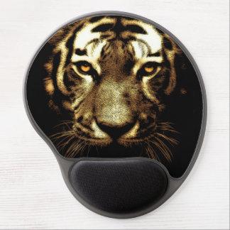 Tiger Look Brown Artwork Gel Mouse Pad
