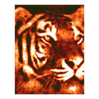 Tiger Lost Patterns Letterhead