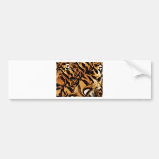 Tiger Love_ Bumper Sticker