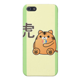 Tiger Love Kanji Covers For iPhone 5