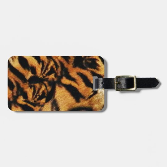 Tiger Love_ Luggage Tag