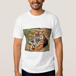 Tiger Lovers Art Gifts Shirt