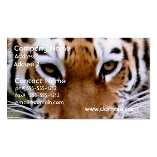 Tiger Markings Business Cards