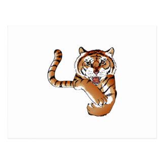 TIGER MASCOT POSTCARD