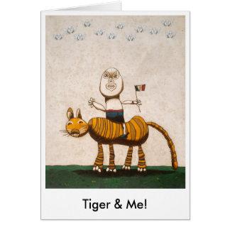 Tiger & Me! Card