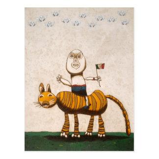 Tiger & Me! Postcard