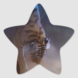 Tiger Moon Gifts Star Stickers
