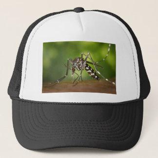 Tiger mosquito trucker hat